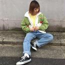 Ellesse green white nylon jacket