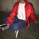 Champion red nylon jacket