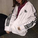 Adidas white simple logo jersey