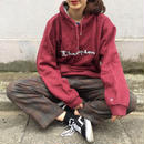 Champion wine red logo parka