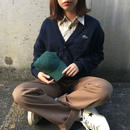 Lacoste navy one point cardigan