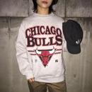 Chicago bulls right gray sweat