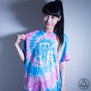 [Tシャツ]CLAC NKKR FCKN -BLUE x PINK-