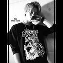 [ロング丈Tシャツ]HIROSHIMA FUSION UNITE CLAC -GSH-