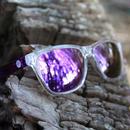 SUNSKI/サンスキー【SUN-OR-PU】Originals Sunglasses Clear/Purple オリジナル・サングラス 偏光レンズ ミラーレンズ仕様 クリア/パープル