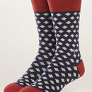 PACT(パクト メンズ)【EA1-MSP-BLP-1S】MEN'S-Premium Crew Sock-オーガニックコットン 靴下