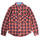 WOOLRICH/ウールリッチ【6114-MUL】(シャツ/長袖/コットン/ウォッシュ加工)-L/S SHIRT-MNS MINERS WASH FLAN-RED