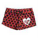 (CLAP)  C-DOTS  SHORTS レッド