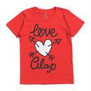 (CLAP)  LOVE-Cupid  Tee レッド