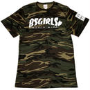 BSG  WORLD  WIDE  CAMO Tee カモグリーン