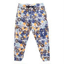 (CLAP)  M-FLOWER  CROPPED PANTS ブルー