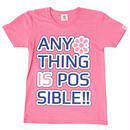 (CLAP)  POSSIBLE  Tee ピンク