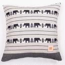 Handwoven Cotton Cushion Cover       手織りコットンクッションカバー  PCN-001