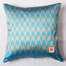 Handwoven Mudmee Silk Cushion Cover    手織りシルク絣マッドミーのクッションカバー  PSM-008