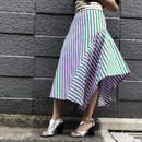 STRIPE MIDIUM SKIRT