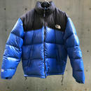 【THE NORTH FACE】USED DOWN - BLACK/BLUE -