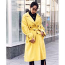 VOLUME SLEEVE TWILL TRENCH