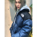 【 THE NORTH FACE 】USED DOWN -NAVY-
