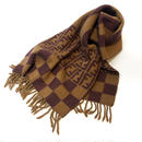 【Vintage FENDI】SCARF camel×brown