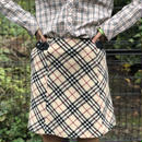 【Vintage Burberry】CHECK SKIRT