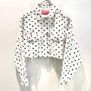 DOT SHORT JACKET