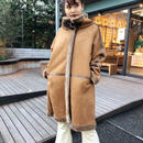 FAKE MOUTON LONG COAT