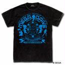 MEGA DRIVE 30th デニムスタイル Tシャツ -ウォッシュブラックデニム-