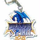 【ドラゴンスピリット30周年記念商品】タイトル画面 アクリルキーホルダー