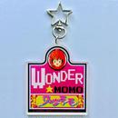 WONDER MOMO  Acrylic Keyring