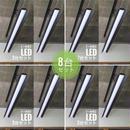 【B-LS】 8台セット ダクトレール用 一体型LEDライト 笠付き  つや消しブラック