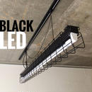 【B-1LG01】複数台可 1灯 LEDライト  つや消しブラック ダクトレール用