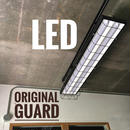 【B-2LWG】2灯 オリジナルワイヤーガード LEDライト  つや消しブラック