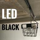 【B-1LG03】複数台可 1灯 LEDライト  つや消しブラック ダクトレール用