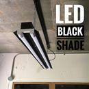 【B-2L40K】2灯  笠付き  LEDライト  つや消しブラック