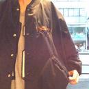[USED] 馬の刺繍の COTTON BIG スタジャン