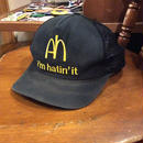 [USED] メッシュCAP 'I'm hatin' it'