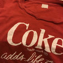 [USED] vintage Coke  TEE  made in USA