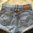 [USED] Levis 702 Repro DENIM shorts