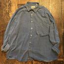 [USED] 渋ブルー!ネルシャツ