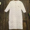 [USED]  cotton サーマルワンピース