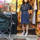 [USED] シンプルデザイン デニムスカート