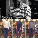 [USED] POLO JEANS COMPANY ボーダーカットソー
