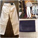 [USED] Sasson Jeansホワイトデニムパンツ
