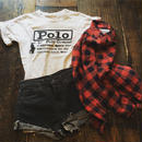 [USED] Polo プリントTシャツ