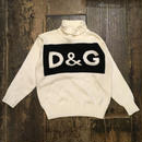 [USED] D&G  ジャガードニット