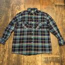 [USED] オーバーサイズ COTTON チェックシャツ