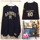 [USED] RAIDERS BIG BIG FOOTBALL Tee
