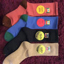 "[MY LOADS ARE LIGHT]""Checking Out"" MENTENANCE SOCKS"