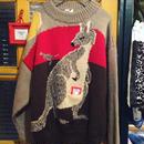 [USED] Wool  おなかポケ付き!カンガルーセーター