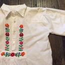 [USED] 刺繍のプルオーバーシャツ